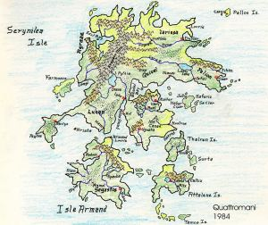 A map I did a long time ago and have reused for several campaigns