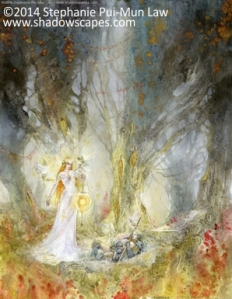 Nocturne - Visitation by Stephanie Pui-Mun Law